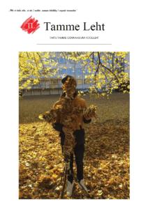 Tamme Gümnaasiumi leht Oktoober 2017