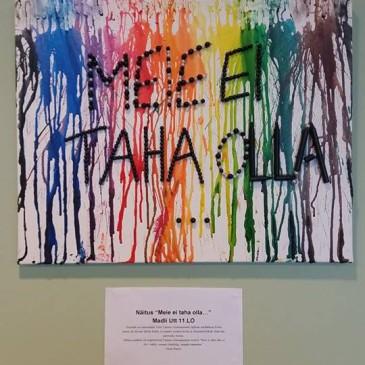 Avati 11.LO kl õpilase Madli Uti näitus