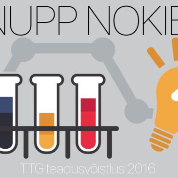 """TTG teadusvõistlus """"Nupp nokib"""" 2017"""