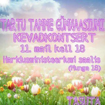 Tartu Tamme Gümnaasiumi Kevadkontsert