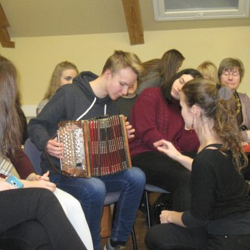 X KU külaskäik Viljandi kultuuriakadeemiasse
