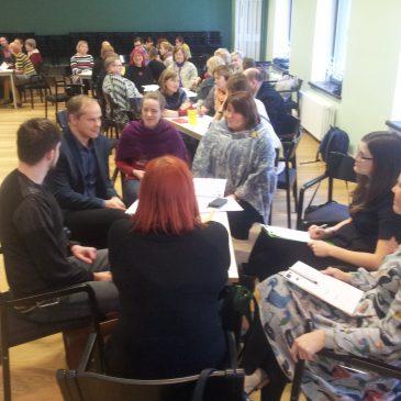 TTG kollektiiv käis õppeseminaril Võrus