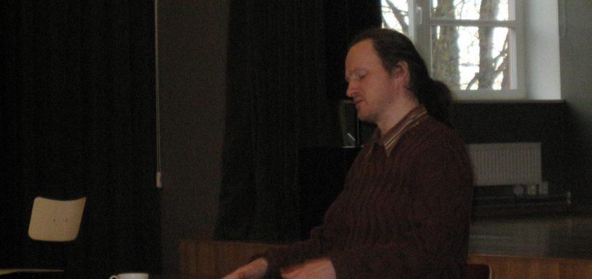Kohtumine kirjanik Mehis Heinsaarega
