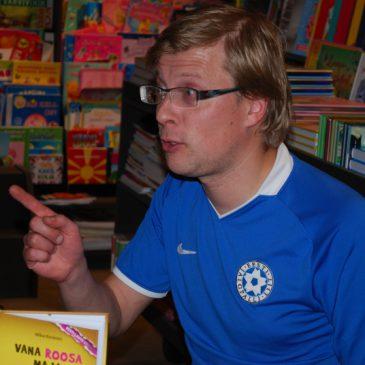 Külas kirjanik Mika Keränen