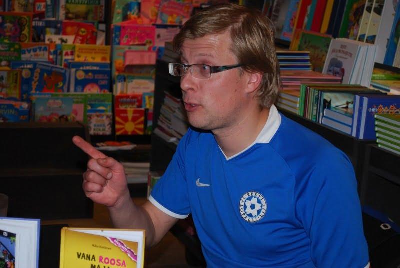 (EST) Külas kirjanik Mika Keränen