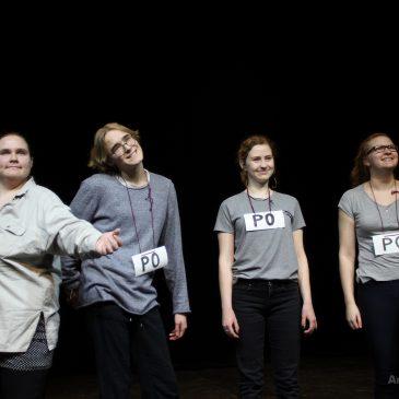 Meie näitering võitis kooliteatrite festivalilt huumori- ja näitlejapreemiaid