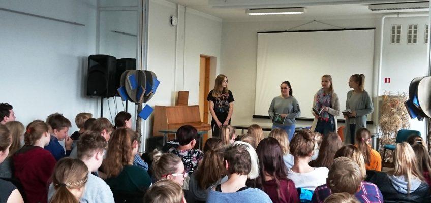 Õpilased võtsid festivalil sõna