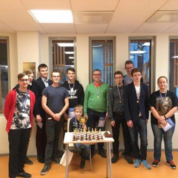 Tartu Tamme Gümnaasiumi maleturniiri tulemused