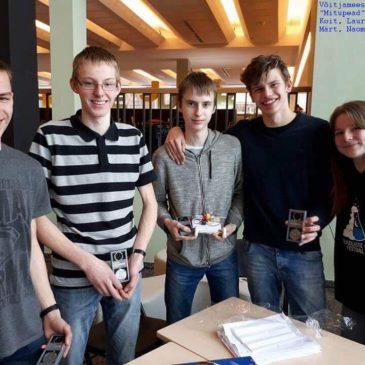 Teadusvõistlusel kohtusid õpilased Eestist, Soomest ja Lätist