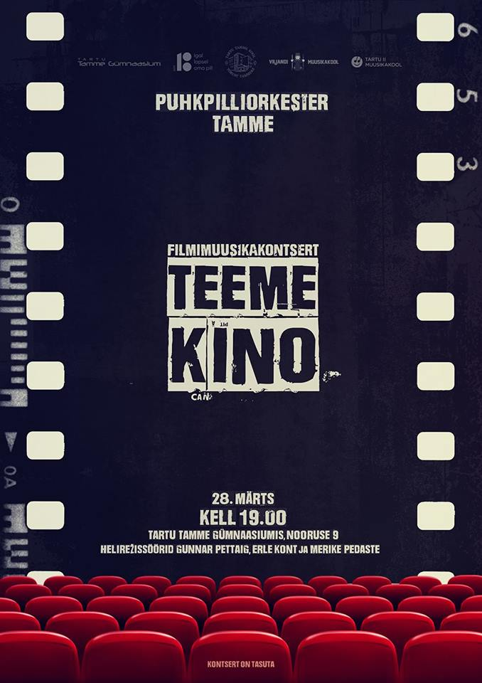 "Filmimuusika kontsert ""Teeme Kino"""