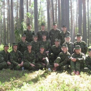 Tartumaa koolide riigikaitselaager 2018