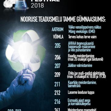 Teadlaste Öö 2018 Tamme gümnaasiumis