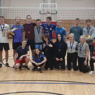 Tartu Tamme Gümnaasiumi klassidevaheline võrkpalliturniir